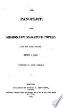 The Panoplist And Missionary Magazine Conducted By An Association Of Friends To Evangelical Truth