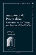 Autonomy & Paternalism