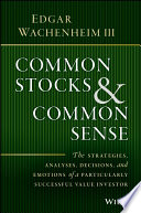 Common Stocks And Common Sense PDF