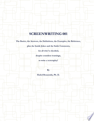 Download Screenwriting 001 Free Books - Dlebooks.net