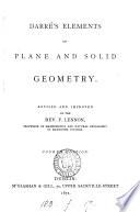 Elements of geometry, with ... trigonometry
