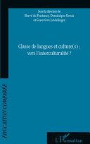 Classe de langues et culture(s) : vers l'interculturalité [Pdf/ePub] eBook