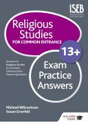 Religious Studies for Common Entrance 13+ Exam Practice Answers