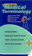 The QuickStudy for Medical Terminology