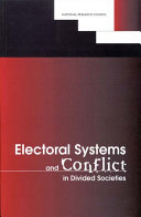 Electoral Systems and Conflict in Divided Societies [Pdf/ePub] eBook