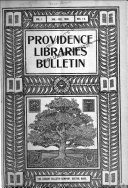 Coöperative Bulletin of the Providence Libraries
