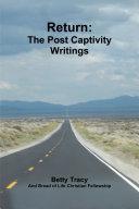 Return: The Post Captivity Writings