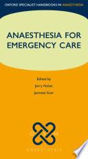 Anaesthesia For Emergency Care [Pdf/ePub] eBook