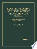 Land Use Planning and Development Regulation Law 3d (Hornbook Series)