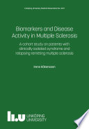 Biomarkers and Disease Activity in Multiple Sclerosis