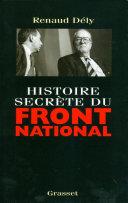 Pdf Histoire secrète du Front National Telecharger