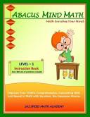 Abacus Mind Math Instruction Book Level 1