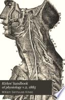 Kirkes  handbook of physiology v 2  1885 Book