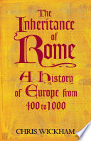 The Inheritance of Rome Book