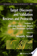 Target Discovery and Validation Reviews and Protocols Book