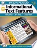 Understanding Informational Text Features  Grades 6   8