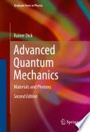 Advanced Quantum Mechanics Book PDF