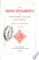 Il Nuovo Testamento del nostro Signore e Salvatore Gesù Cristo