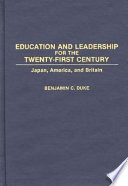Education and Leadership for the Twenty-first Century