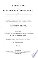 Exposition Of The Old And New Testament Book