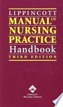 Lippincott Manual of Nursing Practice Handbook Book