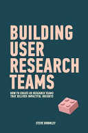 Building User Research Teams