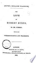 The Life of Robert Burns Book