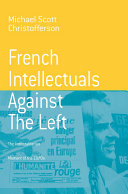 French Intellectuals Against the Left Pdf/ePub eBook