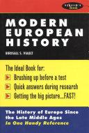Schaum s Outline of Modern European History