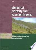 Biological Diversity and Function in Soils Book