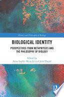 Biological Identity Book