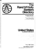 The Rand McNally Bankers Directory