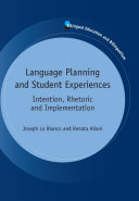 Pdf Language Planning and Student Experiences