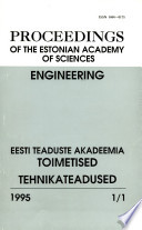 Proceedings of the Estonian Academy of Sciences, Engineering