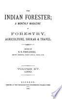 The Indian Forester Book
