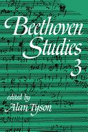 Beethoven Studies 3