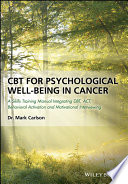 CBT for Psychological Well Being in Cancer