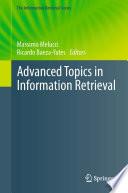 Advanced Topics in Information Retrieval Book
