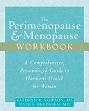 The Perimenopause   Menopause Workbook