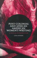 Post-Colonial and African American Women's Writing Pdf/ePub eBook