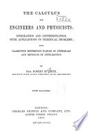 The Calculus for Engineers and Physicists