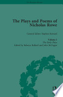 The Plays And Poems Of Nicholas Rowe Volume I
