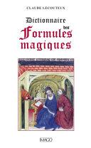 Pdf Dictionnaire des formules magiques Telecharger