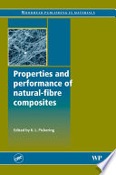 Properties and Performance of Natural Fibre Composites