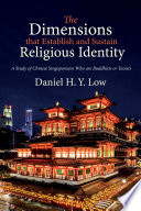 The Dimensions That Establish And Sustain Religious Identity