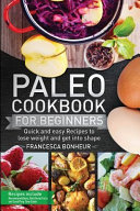 Paleo Cookbook for Beginners Book