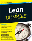 Lean For Dummies Book