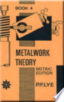Metalwork Theory   Book 4 Metric Edition Book