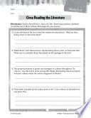 The Odyssey Close Reading And Text Dependent Questions