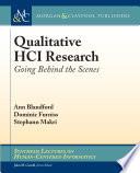 Qualitative HCI Research Book